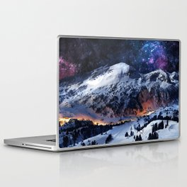 Mountain CALM IN space view Laptop & iPad Skin