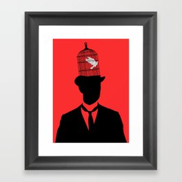 Free Your Mind Framed Art Print