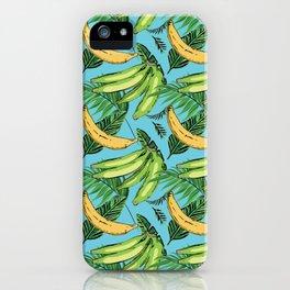 Plantain Paradise Pattern - For true plantain fans iPhone Case