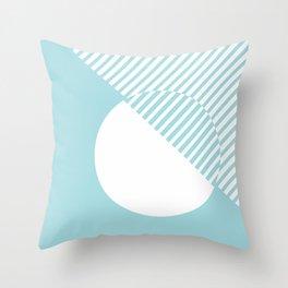 Island Paradise #pantone #color #decor Throw Pillow