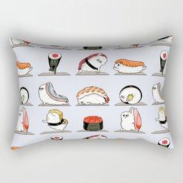 Sushi Yoga Rectangular Pillow