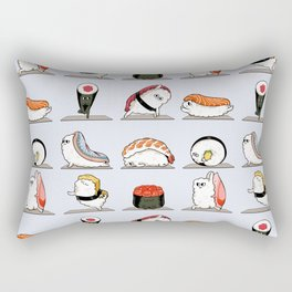 Sushi Yoga Rectangular Pillow
