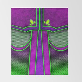 Joker Mage Warlock Armor Costume Throw Blanket