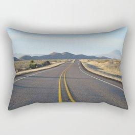 Big Bend road Rectangular Pillow