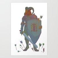 ram Art Prints featuring Ram by Jay Raine