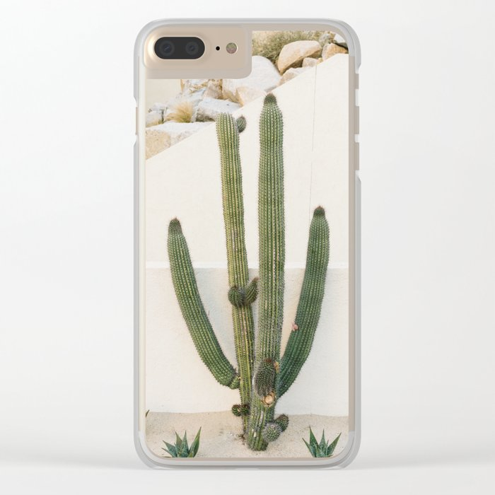 Cabo Cactus X Clear iPhone Case