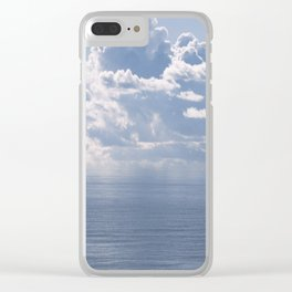 Lost at Sea Clear iPhone Case