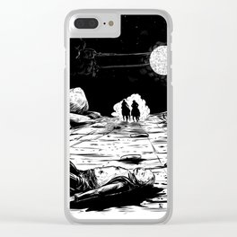 The Old West Battle III Clear iPhone Case