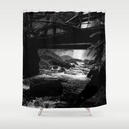 Waterfall Bridge Shower Curtain
