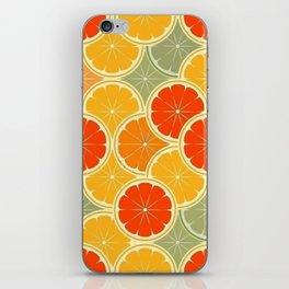Summer Citrus Slices iPhone Skin
