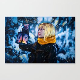 BlackPink winter Canvas Print