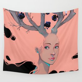 Lady Cornue. Wall Tapestry