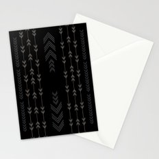 Headlands Arrows Black Stationery Cards
