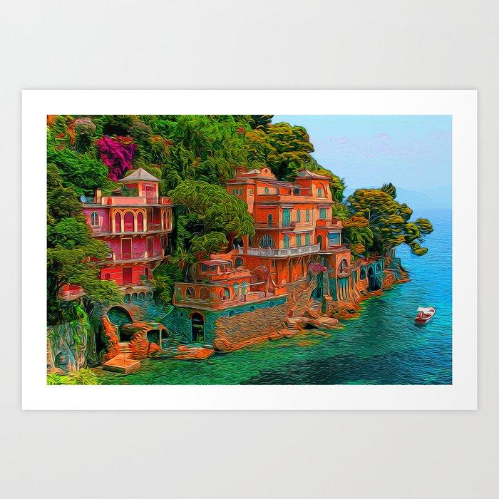 The Villa Art Print