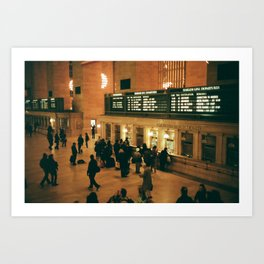 Grand Central Art Print