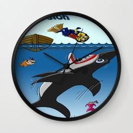 Inmersión Wall Clock