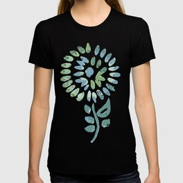 Pop abstract watercolor - geometric composition  T-shirt