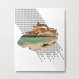 Beach Head Metal Print