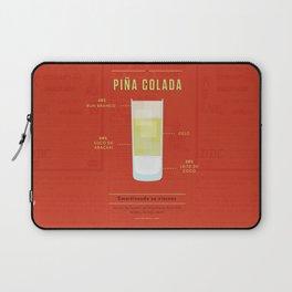 Piña Colada - Cocktail by Juan Laptop Sleeve