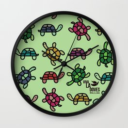 Turtle Gem Wall Clock