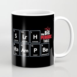 The Big (Bang) Periodic Table Coffee Mug