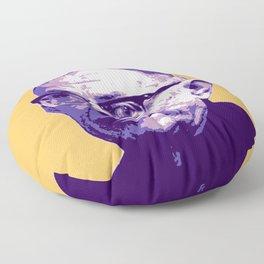 Jean-Paul Sartre Floor Pillow