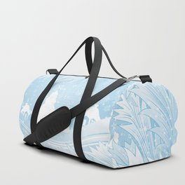 Winter background Duffle Bag