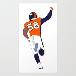 Mile High Defense Art Print
