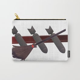 Three Bombs, One Broom Carry-All Pouch