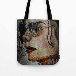MJ In Profile Tote Bag