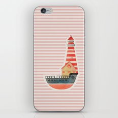 To The Land of Imagination iPhone & iPod Skin