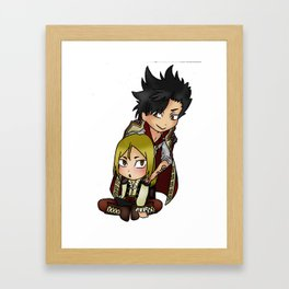 Kuroo n Kenma Pirate! Framed Art Print