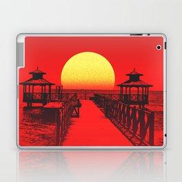 The Karate Kid Sunset Laptop & iPad Skin