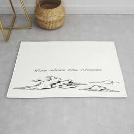 Rise Above the Clouds Rug