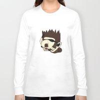 racoon Long Sleeve T-shirts featuring Raino Racoon by René Barth