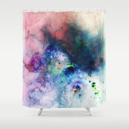 Everything is nothing 17 (therefore it was beautiful) Shower Curtain