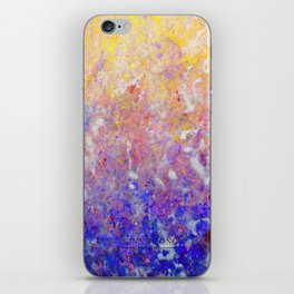 Abstract Art in Sunset Palette iPhone Skin