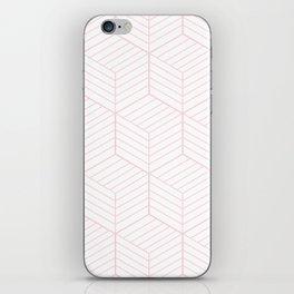 ZADA ((pastel pink)) iPhone Skin