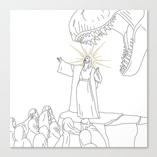 Jesus, Etc. (Alt) Canvas Print