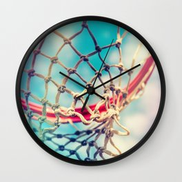 The Object Of Basketball Wall Clock