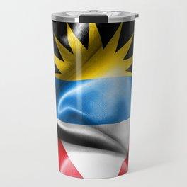 Antigua and Barbuda Flag Travel Mug