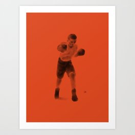 The Boxer Art Print