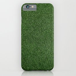 Bright Lush Green Grass iPhone Case