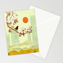 Cherry Branch Stationery Cards