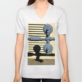 Shadow Fold Unisex V-Neck