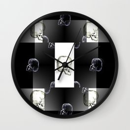 Skeleton Crew Wall Clock