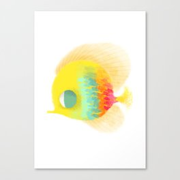 Bajo del mar Canvas Print