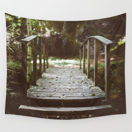 Bridge over troubled waters Wall Tapestry