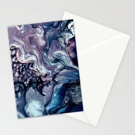 Obsession in blue Stationery Cards