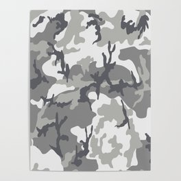 Urban camouflage Poster